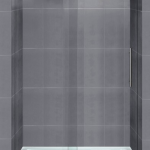"Florence 48/60"" Frameless glass shower door"