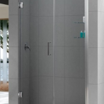 Frameless shower doors & panels