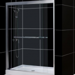 "Roxana-48/60"" framed glass shower door"
