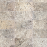 Silver Ash Crosscut - Travertine F/H various sizes