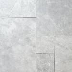 Valensa Grey - Marble straight edge