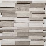 3D Wooden Grey
