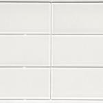 4x12 White - Glass