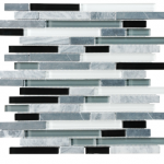 Bliss - Midnight Glass & Stone (random strip or 5/8 square)