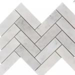Carrara Extra Polished - Herringbone 2x6