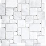 Carrara Extra Polished - mini Roman pattern