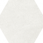 Hexagon Cement - White #HE22092 7x8