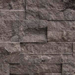 Patterned - Silver Valley Grey ledgerstone