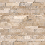 Picasso Travertine - Cubics honed
