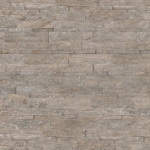Silver Ash Travertine - Cubics honed