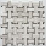 Wooden Grey - Basketweave