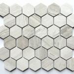 Wooden Grey - Hexagon
