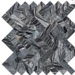 Zebra Marble - Polished Herringbone 1x3
