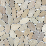 Zen Pebbles - Driftwood Tan (flat or round)