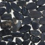 Zen Pebbles - Tahitian Black (flat or round)