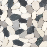 Zen Pebbles - Tranquil Cool Blend (flat or round)