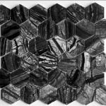 Zera Black - Hexagon