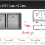 Flamingo 50:50 Natural Grey