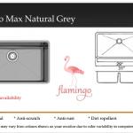 Flamingo Max Natural Grey