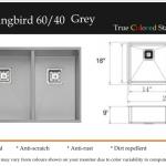 Hummingbird 60:40 Grey