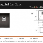 Hummingbird Bar Black