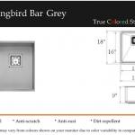 Hummingbird Bar Grey