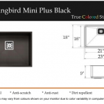 Hummingbird Mini Plus Black