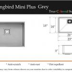 Hummingbird Mini Plus Grey