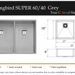Hummingbird Super 60:40 Grey