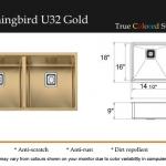 Hummingbird U32 Gold