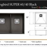 Humminmgbird Super 60:40 Black
