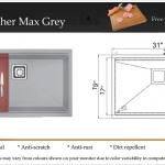 Kingfisher Max Grey