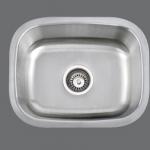 SMC - 1815 - Stainless single undermount sink