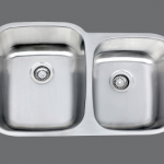 SMC - 8291L Stainless double undermount sink