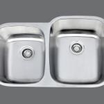 SMC - 8291R Stainless double undermount sink