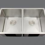 SMC - D2918 Stainless double undermount sink