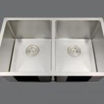 SMC - D3219 Stainless double undermount sink