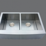 SMC - D4105 Stainless double apron sink