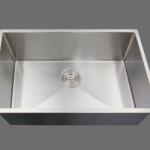 SMC - S2718 Stainless single undermount sink