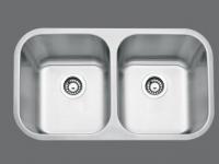 SMC - 8191 Stainless double undermount sink